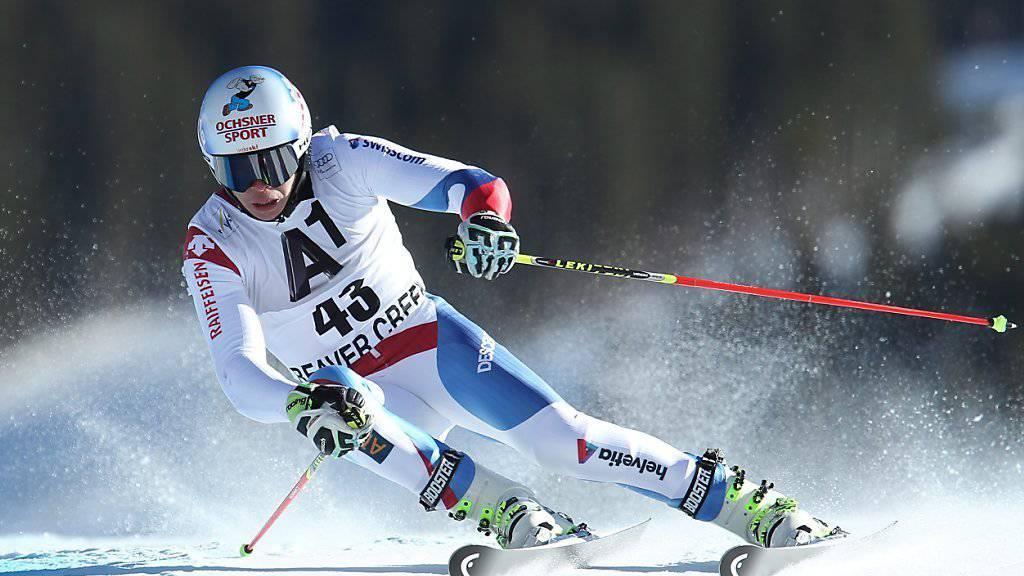 In der Kurve steif, danach wieder flexibel: Ein neuer Ski versteift sich durch Druck auf die Kanten. (Symbolbild)
