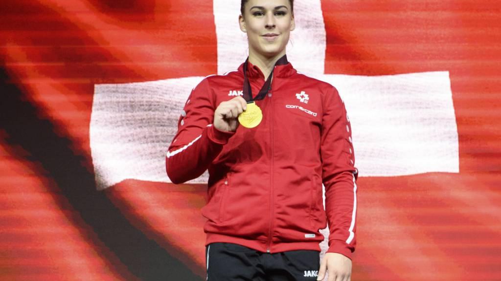 Die Selektion für die Olympischen Spiele in Tokio war für Europameisterin Giulia Steingruber nur noch reine Formsache