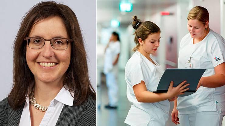 Barbara Carmen ist neu zur Leiterin der Direktion Pflege der Solothurner Spitäler gewählt worden.