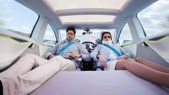 Hände weg vom Steuer - das Auto der Zukunft fährt autonom.