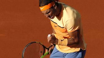 Rafael Nadal ballt in Barcelona die Sieger-Faust