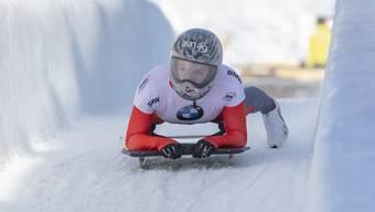 Silber im Eiskanal von Sigulda: Die Schweizer Skeletonfahrerin Marina Gilardoni fährt in Lettland aufs EM-Podest