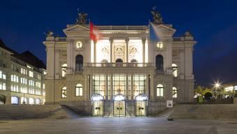 Das Zürcher Opernhaus.