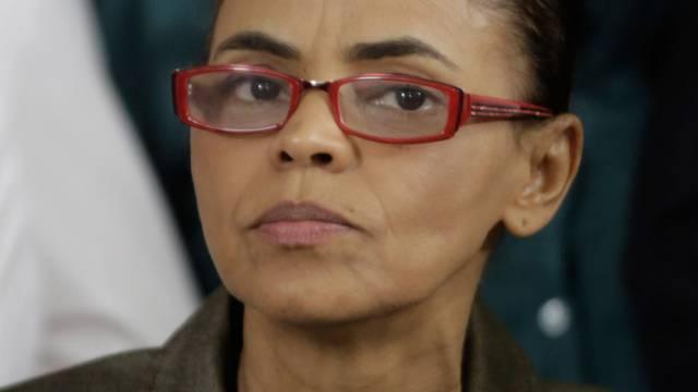 Die brasilianische Präsidentschaftskandidatin Marina Silva