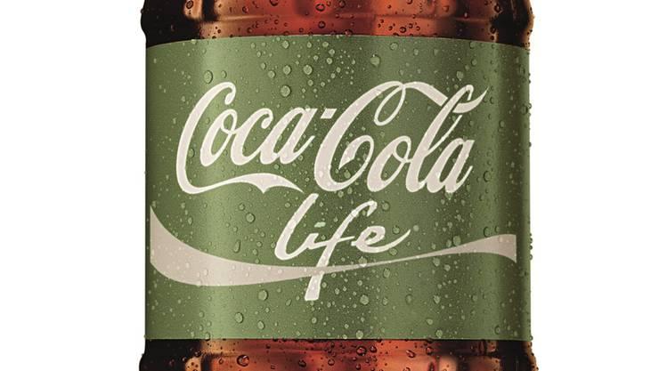 Das neue Coca-Cola Life.