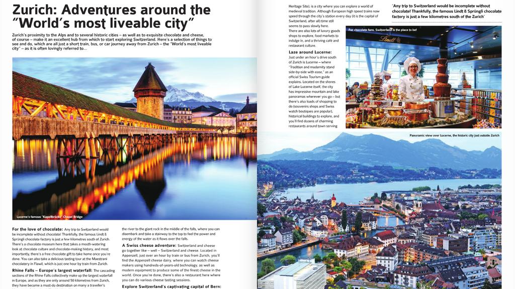 Zürich oder Luzern? Verwirrung bei Oman Air