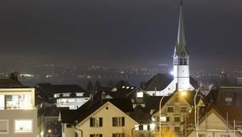 Die Reformierte Kirche in Wädenswil am Zürichsee