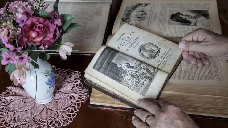 Die Erstausgabe von Nauberts «Heerfort und Klärchen» befindet sich in der Obhut des Kabinetts.