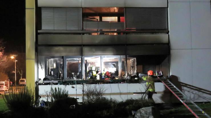 In Untersiggenthal ist am Montagabend ein Brand ausgebrochen.