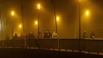 Das einzige, was dieses Jahr in Solothurn von den Filmtagen zu sehen sein wird: Die gelbe Beleuchtung (Archiv).