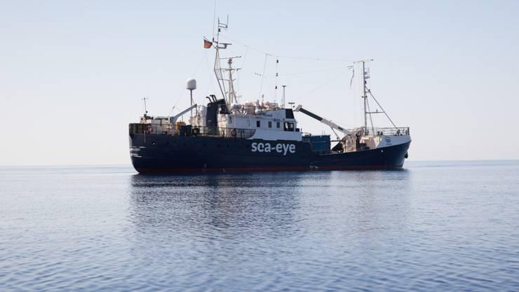 Das deutsche Rettungsschiff Alan Kurdi auf dem Mittelmeer. (Archivbild)