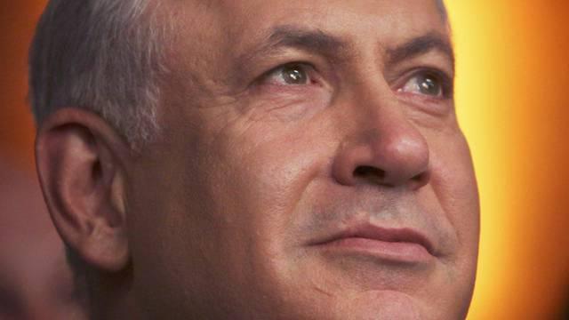 Israels Regierungschef Netanjahu steht in der Siedlungspolitik im Gegenwind seiner Partei (Archiv)