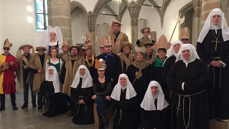 Die Uraufführung des Theaters «Quasimodo, Tumult in Genf» in der Aarauer Stadtkirche steht kurz bevor. zvg