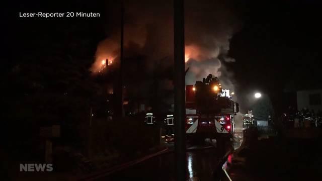 Kind stirbt bei Brand in Steffisburg