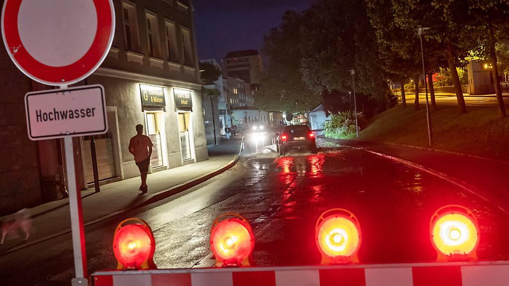 Hochwasserlage in Bayern entspannt sich etwas