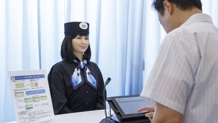 «Wie kann ich Ihnen helfen?»: Roboter wie im japanischen Hotel Henn-na sind auf dem Vormarsch - oder doch nicht?
