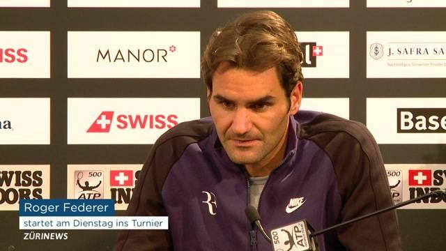 Roger Federer begräbt Kriegsbeil