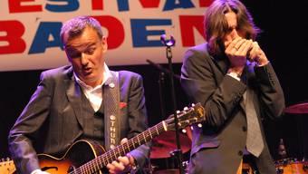 Philipp Fankhauser machte das Jubiläumskonzert «10 Jahre Bluesfestival» zum Event