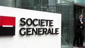 Die Bande drang in den unterirdischen Tresorraum der Bank Société Générale ein. (Bild von der Zentrale in Paris)