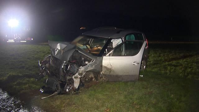 26-Jähriger baut mehrere Unfälle in einer Nacht