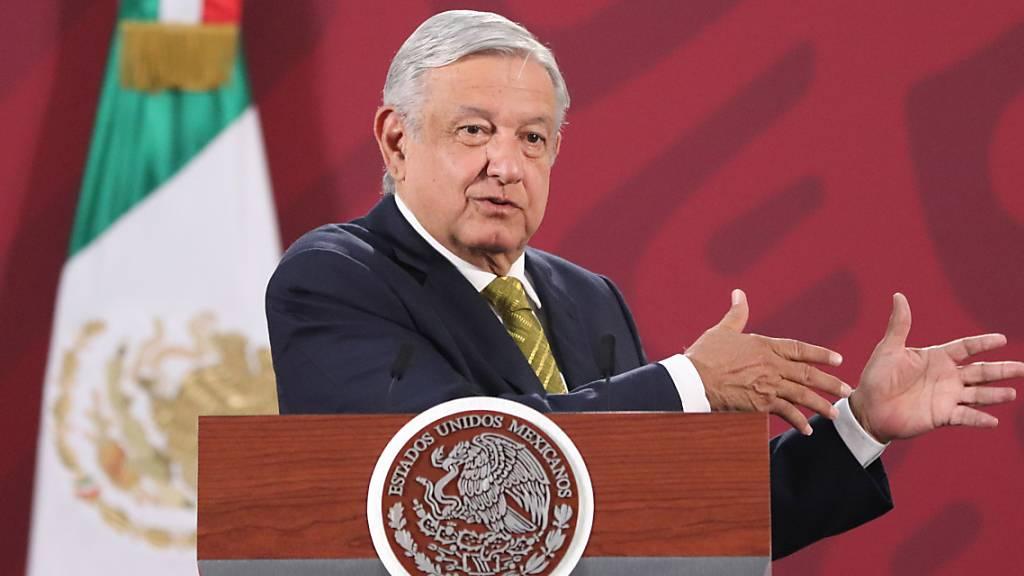 Mexikos Präsident Andres Manuel Lopez Obrador will die Wirtschaft des Landes mit einem milliardenschweren Finanzpaket unterstützen. (Archivbild)