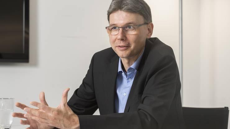 Dieter Egli ist Präsident des Polizeiverbands.