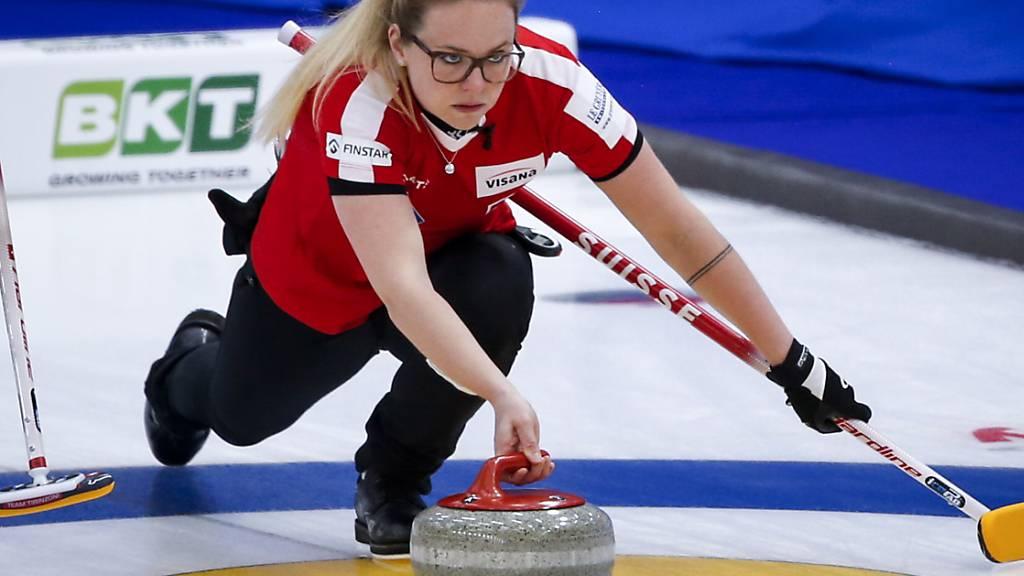 Alina Pätz, die Nummer 4 im Schweizer Team