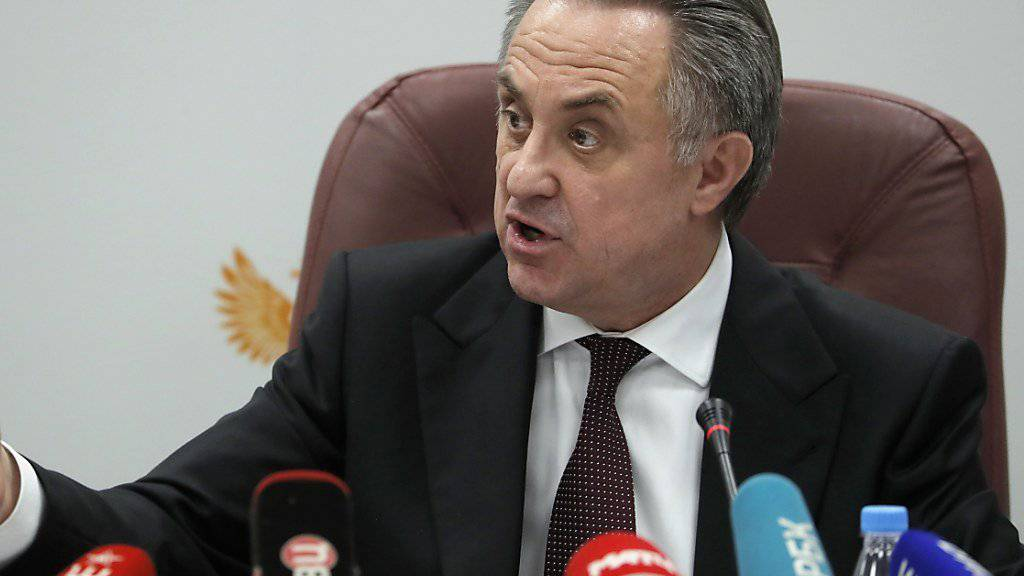 Der in die Kritik geratene Witali Mutko tritt auch als Cheforganisator der Fussball-WM 2018 zurück
