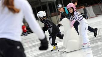 Der Eislaufclub beider Basel kann auf eine erfolgreiche Schweizer Meisterschaft zurückblicken.(Archiv/Symbolbild)