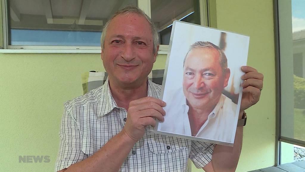 Verwechslungsgefahr: Ägyptischer Investor Samih Sawiris und Hugo Möller aus Gerlafingen