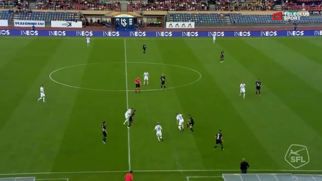 Nikola Boranijasevic trifft nur drei Minuten später zum dritten Tor für das Heimteam