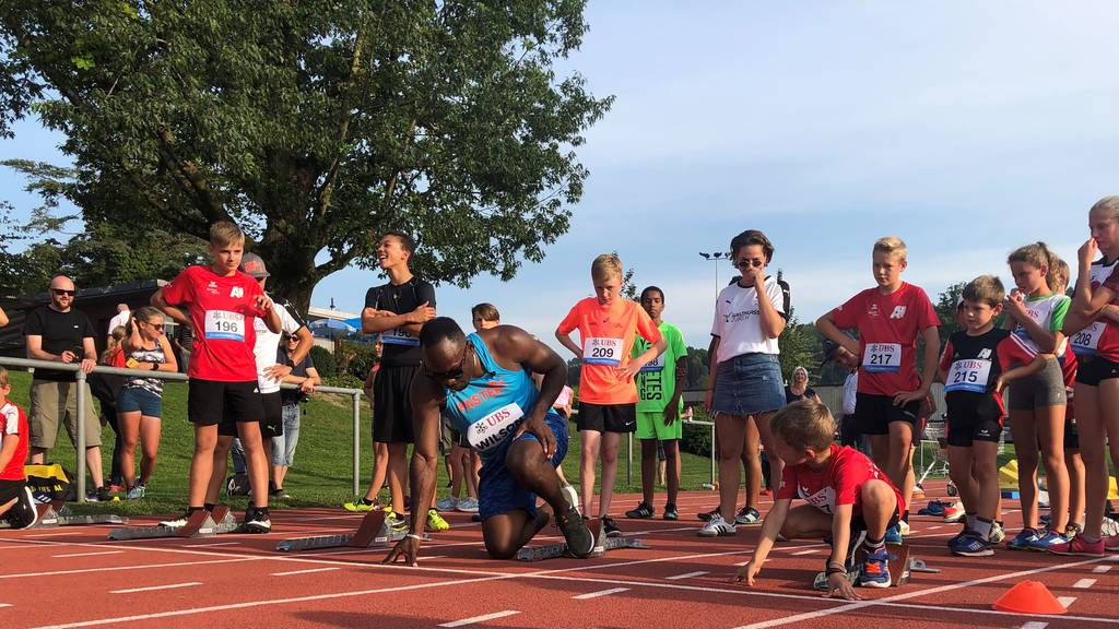 Jugend trainiert mit Weltklasse Zürich