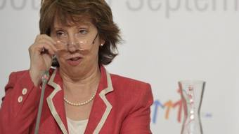 Catherine Ashton im polnischen Sopot