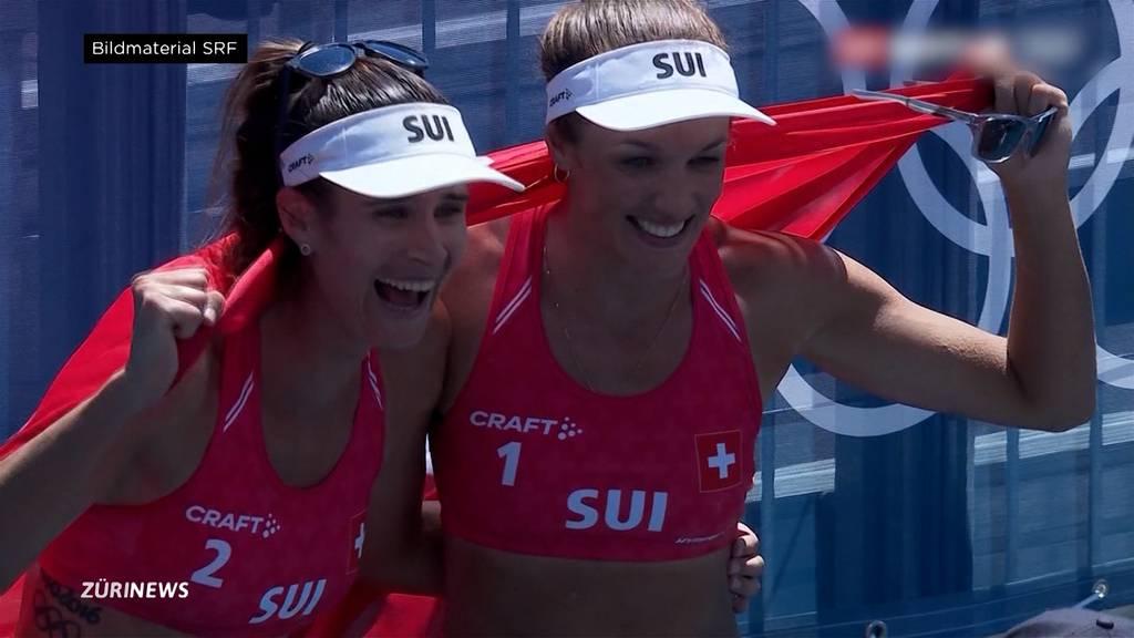 Erstmals Olympia-Medaille für Schweizer Frauenteam im Beachvolleyball