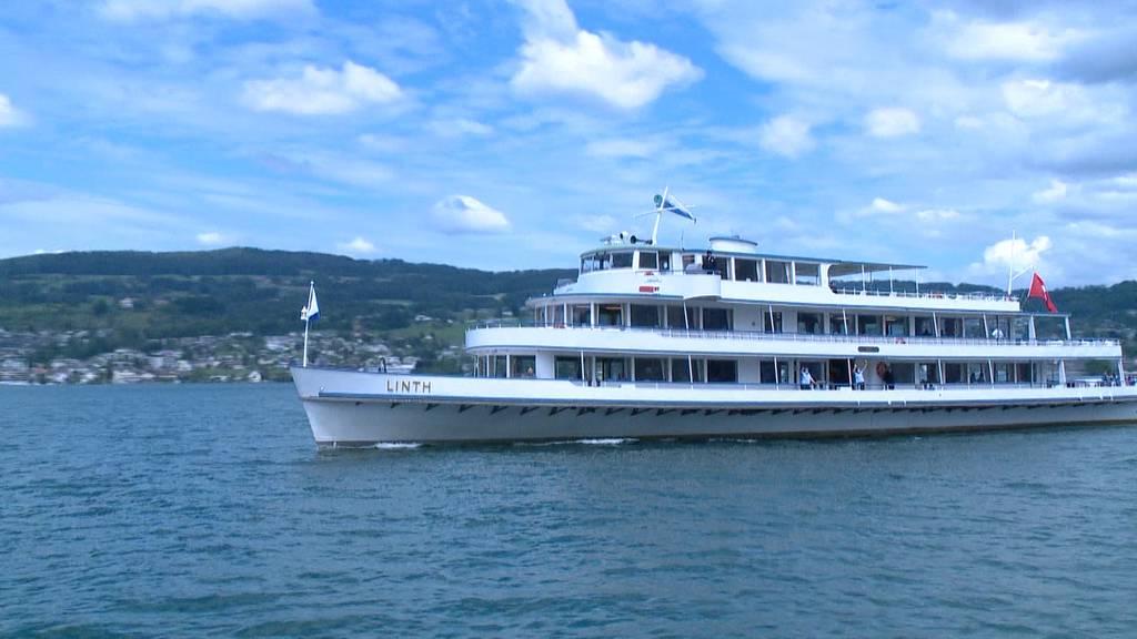 Kursschiffe verkehren wieder auf dem Zürichsee