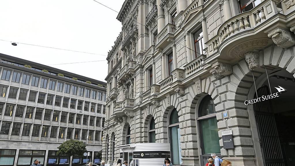 Toptransfer am Paradeplatz: Die Credit Suisse holt Ex-UBS-Topmanager Axel Lehmann in den Verwaltungsrat. (Archivbild)