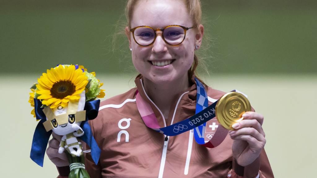 Nach ihren zwei Medaillen an den Olympischen Spielen in Tokio legt Nina Christen eine Pause ein