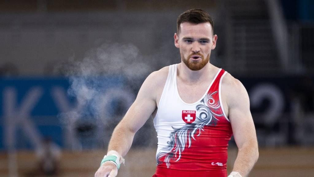 Benjamin Gischard an den Olympischen Spielen in Tokio