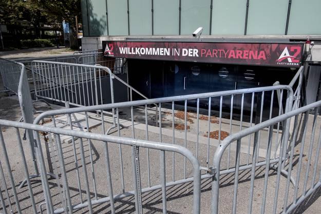 Nach 14 Jahren wurde der Party-Betrieb der Diskothek unter der St. Jakob-Arena eingestellt.