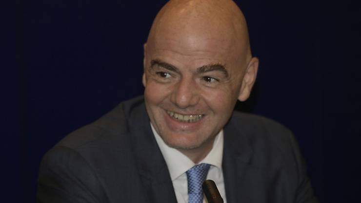 FIFA-Präsident Gianni Infantino plädiert für eine WM mit 40 Mannschaften
