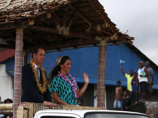 Prinz William und Kate im Südseestaat Salomonen