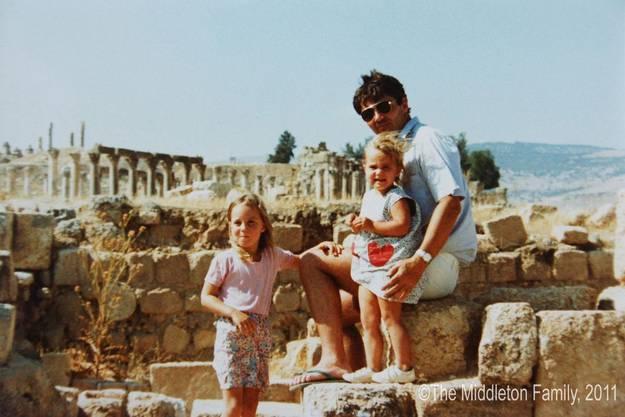 MIt der Familie in Athen