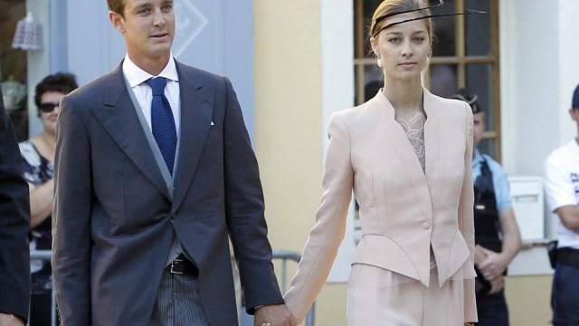 Pierre Casiraghi mit seiner Freundin, Beatrice Borromeo ((Archiv)