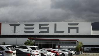 Um diese Fabrik stritten sich Elon Musk und die Behörden: Die Tesla-Fabrik im kalifornischen Fremont.