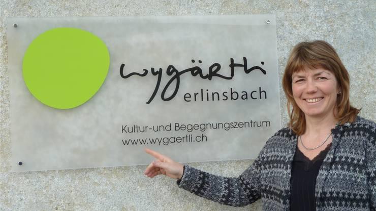 Monika Schenker, die neue Präsidentin des Trägervereins Kultur- und Begegnungszentrum Wygärtli in Erlinsbach. ZVG