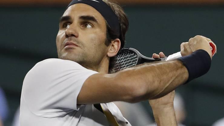 Roger Federer steht in Indian Wells in der dritten Runde.