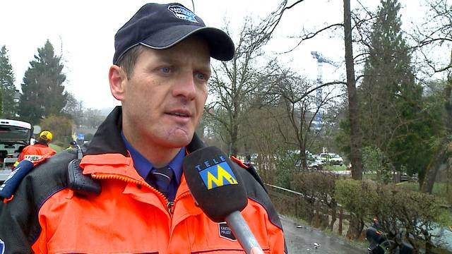 «Es war eine schlimme, heftige Kollision»: Polizeisprecher Bernhard Graser im Interview.