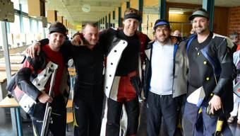 Die frischgebackenen Schweizer Meister aus Balsthal (von links: Marco Baumgartner, Joel Lehmann, Jan Lochbihler, Marc-André Haefeli und Patrick Krenger).