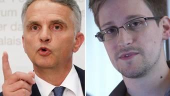 Bundesrat Didier Burkhalter will wissen, was Snwoden in Genf machte
