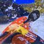 Für die Billboards entlang der Bregenzer Seestrasse wählte Peter Fischli Filmstills seines Videos, das im Rahmen der Ausstellung im Kunsthaus Bregenz zu sehen ist.